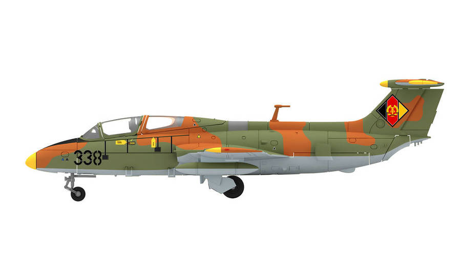 "NVA/LSK (EAST GERMAN AIR FORCE) AERO L-29 DELFIN - PILOT TRAINING WING 25 ""LEANDER RATZ"", BAUTZEN AIR BASE, 1987 – 338"