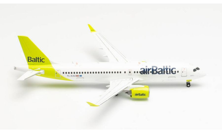 """airBaltic Airbus A220-300 - new livery """"100th A220"""""""