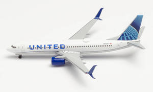 United Airlines Boeing 737-800 -new 2019 colors