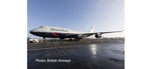 British Airways Boeing B747 -400