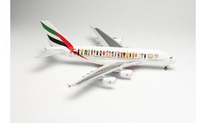 """Emirates Airbus A380 """"Year of Tolerance"""""""
