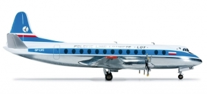 Vickers Viscount 800 LOT Polish Airlines