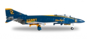 "US Navy McDonnell Douglas F-4J Phantom II ""Blue Angels"" No 2 Right Wing Position -"