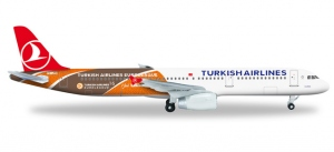 """Turkish Airlines Airbus A321 """"Euroleague"""""""