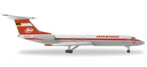 Interflug Tupolev TU-134A
