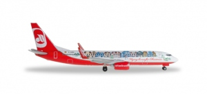 "airberlin Boeing 737-800 ""Flying home for Christmas (IV)"""