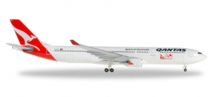 "Qantas Airbus A.330-300  ""80 Years of International Travel"""