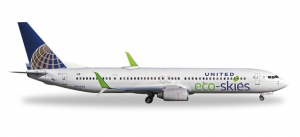 "United Airlines ""Eco-Skies"" Boeing 737-900ER"