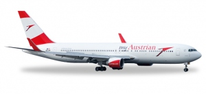 Austrian Airlines - new colors Boeing 767-300