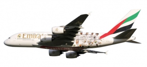 """Emirates """"Real Madrid""""Airbus A380"""