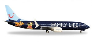 """Jetairfly Boeing 737-800 """"Family Life Hotels"""""""