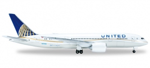 "523837-002 - United Airlines Boeing 787-8 ""Dreamliner"""