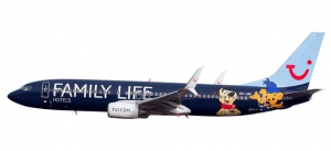 """611145 - Jetairfly Boeing 737-800 """"Family Life Hotels"""""""