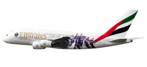 "611152 - Emirates Airbus A380 ""Paris St. Germain"""