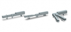 Jet Bridges set of 2