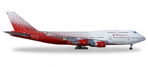 "Rossiya Airlines Boeing 747-400 ""Saint Petersburg"""