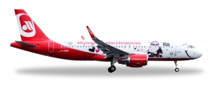 """Airberlin Airbus A320 - """"Lindt Hello - Flying Home for Christmas (V)"""""""
