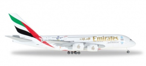 """Emirates """"Cricket World Cup"""" Airbus A380"""