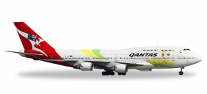 "Qantas ""Spirit of the Australian Team - Rio 2016"" Boeing B747-400"