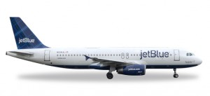 """JetBlue Airways Airbus A320 - """"Tartan"""" tail design - N508JL """"May the Force be with Blue"""""""