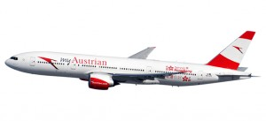 Austrian Boeing 777-200 - new colors