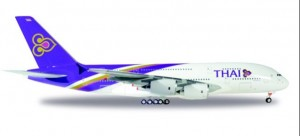 Thai Airways Airbus A380-800 HS-TUD Phayuha Khiri