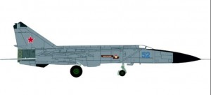 Soviet Air Force Mikoyan Gurevich MiG-25PDS