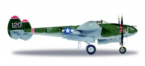 """U.S. Army Air Forces (USAAF) Lockheed P-38L Lightning - Captain V.E. Jett, 431st Fighter Squadron, 475 Fighter Group """"Thoughts Of Midnite"""" - NL38TF (120)"""