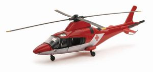 Agusta AW109 rouge/blanc croix rouge