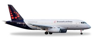 Brussels Airlines Sukhoi Superjet SSJ-100