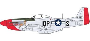 "Mustang P51D ""Sweet Arlene"" - 2nd Lt Arthur Reed Browers"
