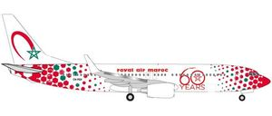 "Royal Air Maroc Boeing 737-800 ""60th anniversary"" - CN-RGV"