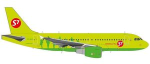 S7 Airlines Airbus A319 - VP-BHQ