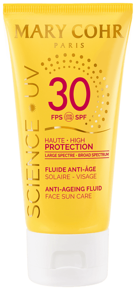 Mary Cohr Fluide solaire visage moyenne protection SPF30