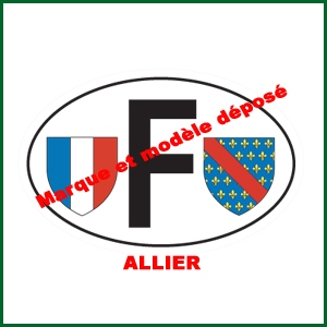 F autocollant Quillery