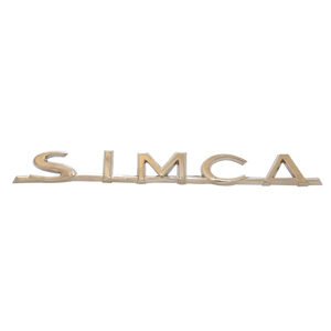 Monogramme Simca Bloc complet
