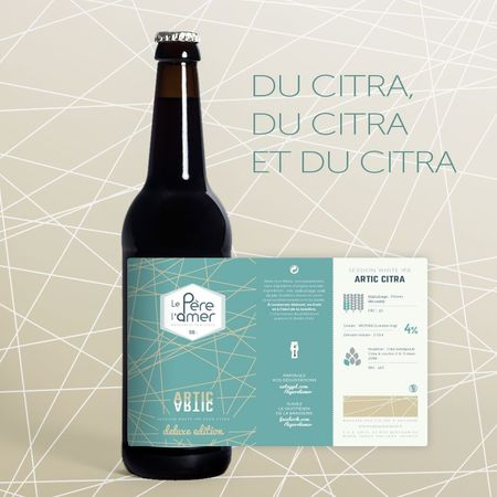 Artic Citra Deluxe Edition Le père l'amer 50 cl