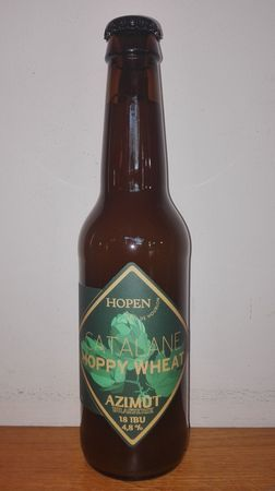 Hoppy Wheat Azimut 33 cl