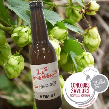 Wheat IPA Gasconha 33 cl