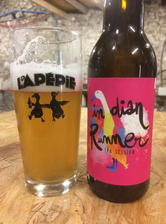 Indian Runner Session IPA Lapépie 33 cl