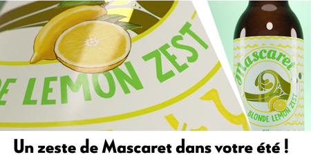 Blonde Lemon Zest Mascaret 33 cl