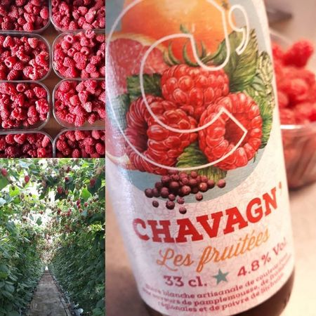 Framboise Chavagn' 33 cl