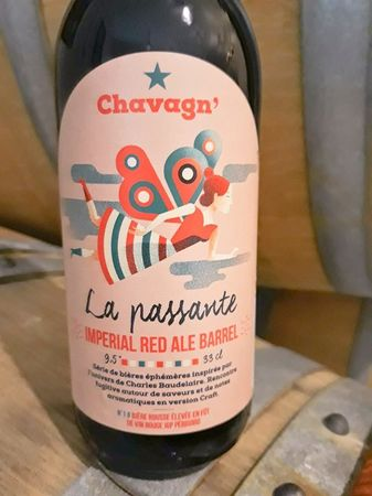 Impérial Red Ale Barrel Chavagn' 33 cl