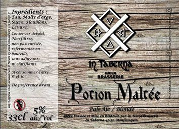 Potion maltée In Taberna 33 cl