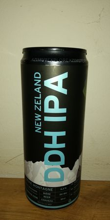 New Zeland DDH IPA Azimut 33 cl canette