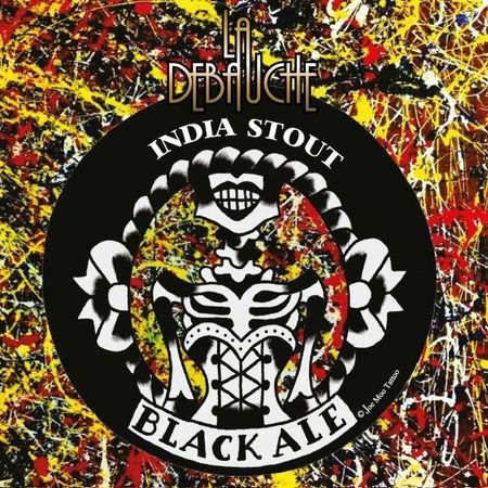 Black Ale India La débauche 33 cl canette