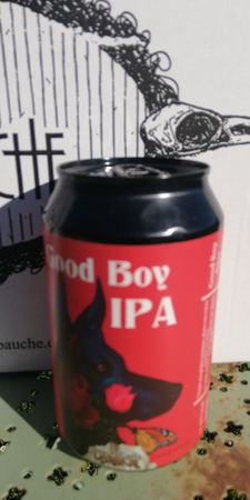Good Boy IPA La débauche 33 cl canette