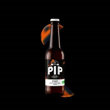 Stout écorces d'oranges PIP 33 cl