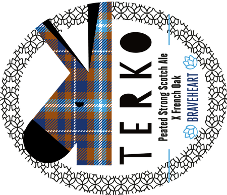 Peated Strong Scotch Ale Terko 33 cl