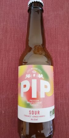 Sour ginger mango PIP 33 cl
